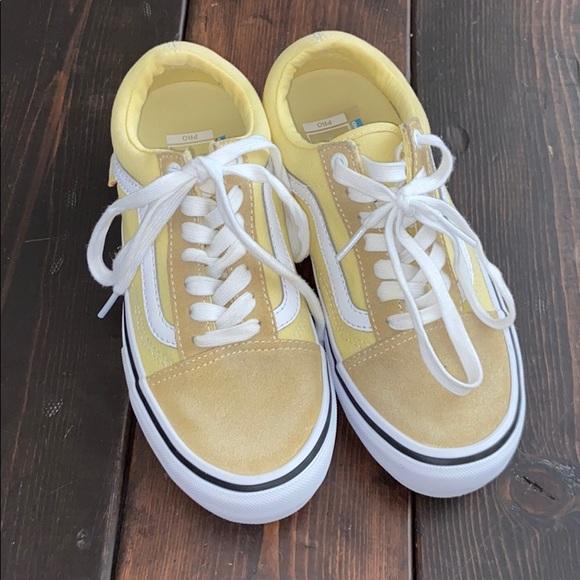 Vans Shoes   Size 6 Yellow Old School